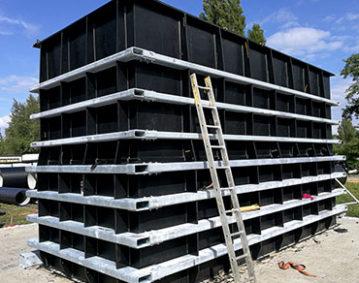 Opaski zbiornika - konstrukcja stalowa, Konstrukcje stalowe Obróbka stali Katowice