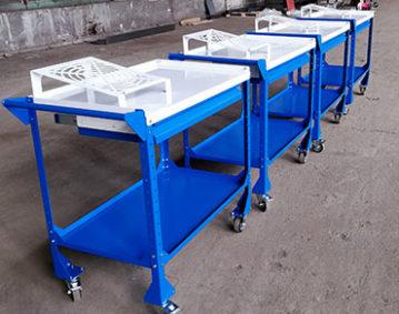 Stoliki produkcyjny, Konstrukcje stalowe Obróbka stali Katowice